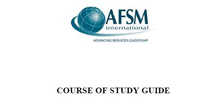 Course of study guide US